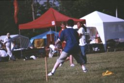 pick-up soccer game