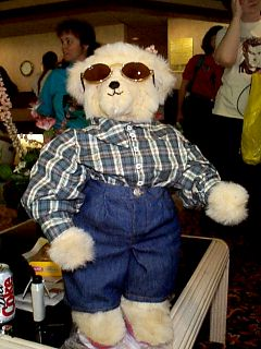 Nick Bearskill in Plaid Shirt, Shades, and Blue Jeans -- Final Presentation
