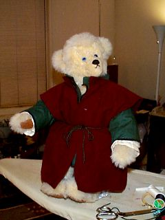 Bear of Harps in Chemise, Tunic, and Overtunic